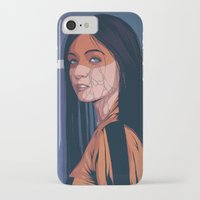 pain iPhone & iPod Cases featuring Pain by Conrado Salinas