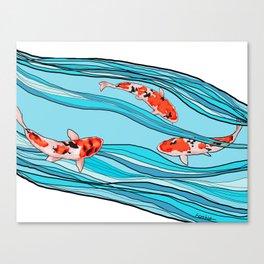 KOI KOI KOI Canvas Print
