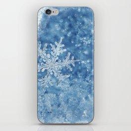 Winter wonderland Snowflakes iPhone Skin