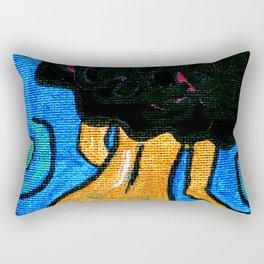 Golden Body Chiq Rectangular Pillow