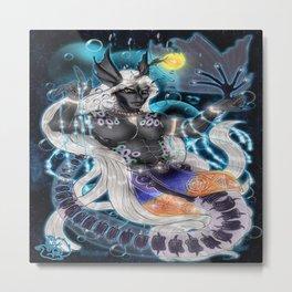 Alien Seabeast Metal Print