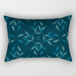 Tea leaf pattern by MerryYoung Rectangular Pillow