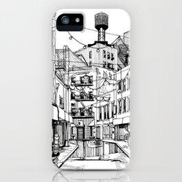 Concrete Jungle (BW) iPhone Case