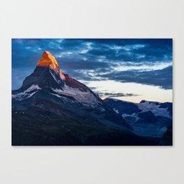 Zermatt, Switzerland #society6 #decor #buyart Canvas Print