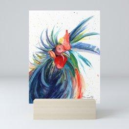 Crazy Kauai Rooster 3 Mini Art Print