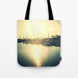 Boats on my side Tote Bag