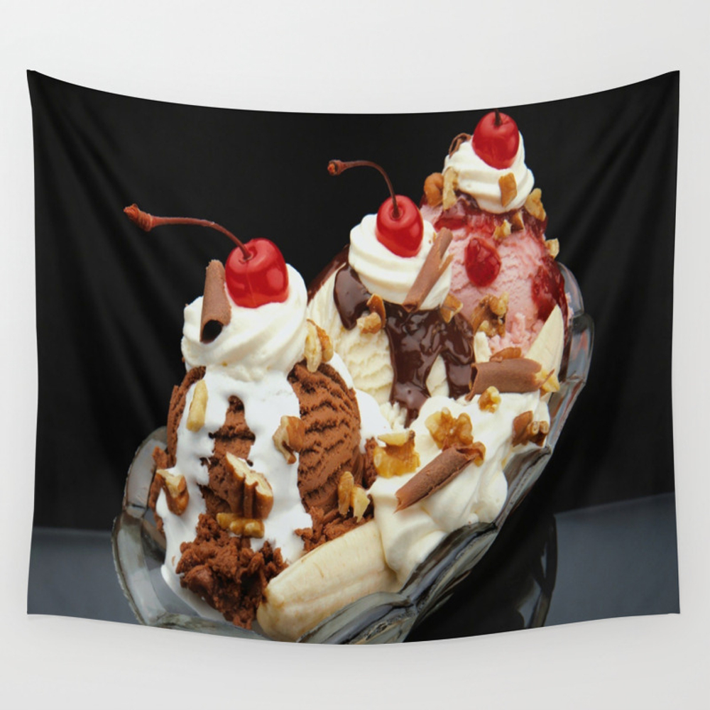 Food Porn Wall Tapestry by Acunacun TPS4060560
