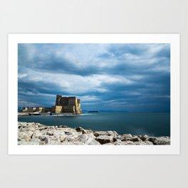 Castel dell'Ovo - Naples Art Print
