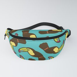 Toucan Pattern Fanny Pack