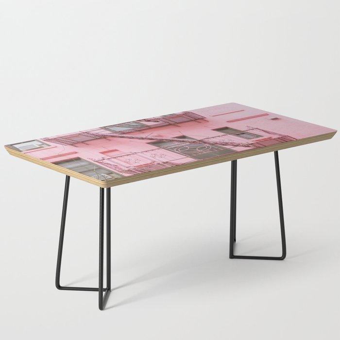 Pink Soho NYC Coffee Table