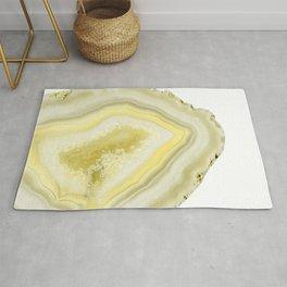 Lemon Twist Agate Dream #1 #gem #decor #art #society6 Rug