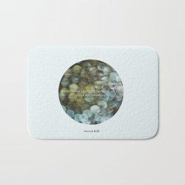 Starlight - Steven Hall Quote Bath Mat