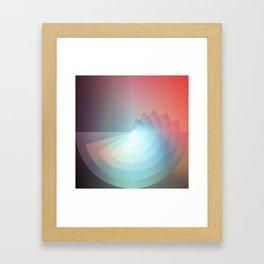 Fades Framed Art Print