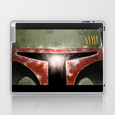 Boba Fett. Close up. Laptop & iPad Skin
