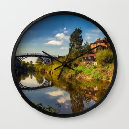 The Iron Bridge Wall Clock