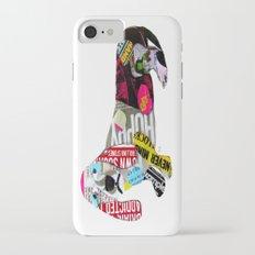 dachshund graffiti Slim Case iPhone 7