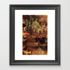 There is a Mountain Framed Art Print