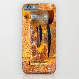 Industrial Lock iPhone Case