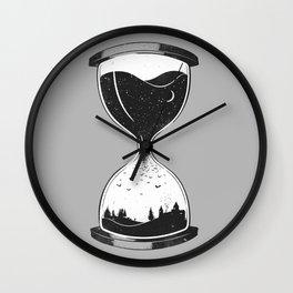 As Night Falls Wall Clock