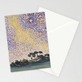 Landscape with Sky and Stars by Henri-Edmond Cross  Stationery Cards