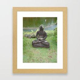 Tiny Buddha Framed Art Print