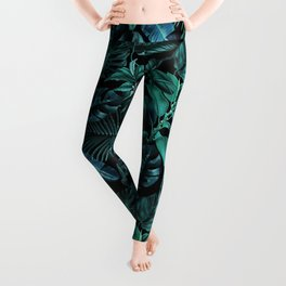 Tropical Garden Leggings