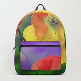Romantic poppies 3 Backpack