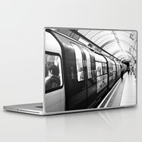 subway Laptop & iPad Skins featuring SUBWAY by MarianaManina