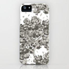 Sylvan Breeze, warm gray iPhone Case