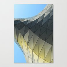 Imaginary Places VII Architectural Design Canvas Print
