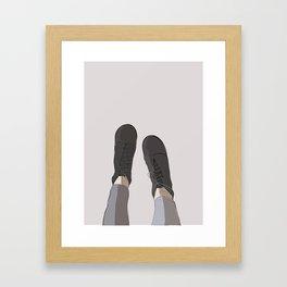 Let It Take You Framed Art Print