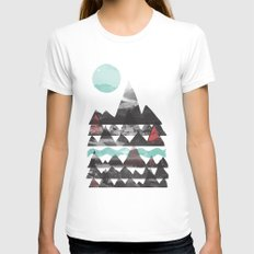 Ascend... White Womens Fitted Tee MEDIUM