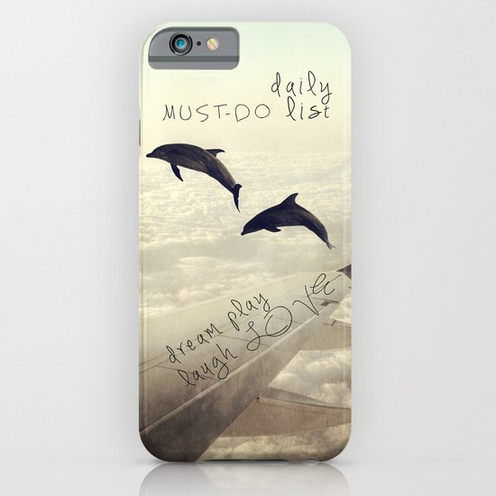 Dolphins iPhone & iPod Case