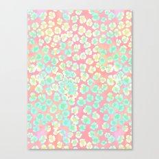 Leopard Pastel Canvas Print