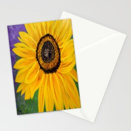 Color of the sun Stationery Cards