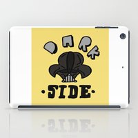dark side iPad Cases featuring dark side by benjamin chaubard