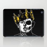 kendrick lamar iPad Cases featuring King Kendrick by zombieCraig by zombieCraig