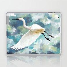 Florida Egret Laptop & iPad Skin