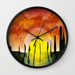 NEOLITHIC OTHERWORLDS Wall Clock