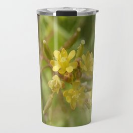 Rorippa Palustris Delicate Pale Mustard Flower Travel Mug