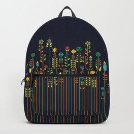 Overgrown flowers Backpack