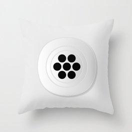 Plughole Throw Pillow