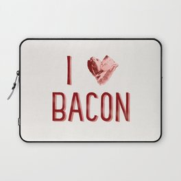 I Love Bacon Laptop Sleeve