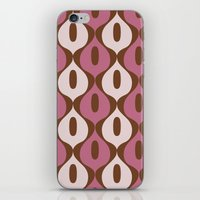 wallpaper iPhone & iPod Skins featuring Wallpaper by Small Comforts