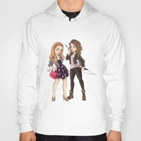 teen wolf Hoodies featuring Teen Wolf Ladies by Laia™