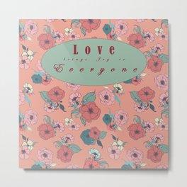 Gorgeous Summer Love brings Joy to Everyone Metal Print
