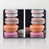 macaroons iPad Cases featuring Macaroons  by Michael P. Moriarty
