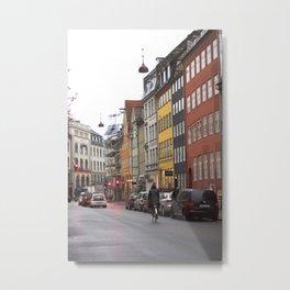 Copenhagen street 4 Metal Print