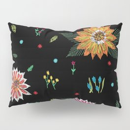 Digital Flora Pillow Sham