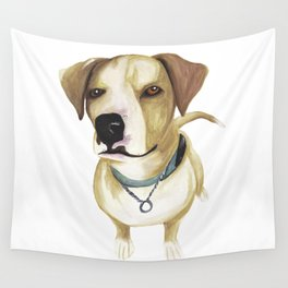 Watercolour Dog Wall Tapestry